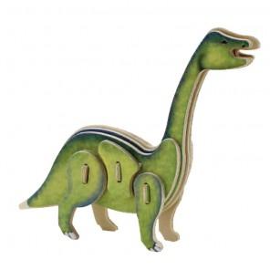 Бронтозавр 3D Пазлы Деревянные Robotime