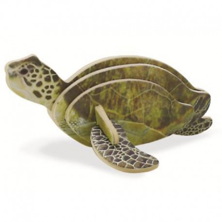 Морская черепаха 3D Пазлы Деревянные Robotime