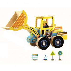 Грузоподъемник 3D Пазлы Деревянные Robotime