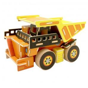 Самосвал 3D Пазлы Деревянные Robotime