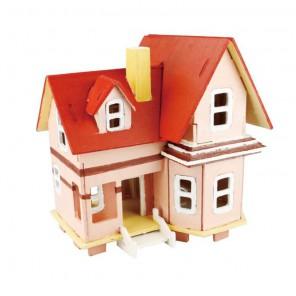 Летающий дом 3D Пазлы Деревянные Robotime