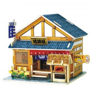 Японский бар 3D Пазлы Деревянные Robotime