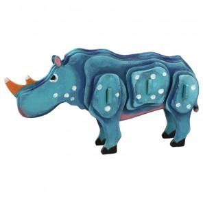 Носорог 3D Пазлы Деревянные Robotime