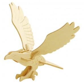 Орёл 3D Пазлы Деревянные Robotime