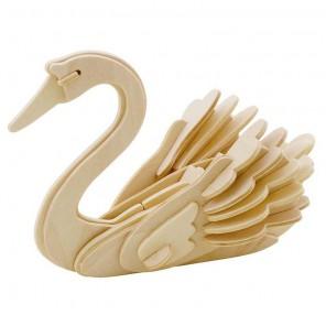 Лебедь 3D Пазлы Деревянные Robotime