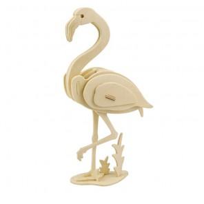 Фламинго 3D Пазлы Деревянные Robotime