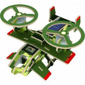 Кольцеплан (на солнечной энергии) 3D Пазлы Деревянные Robotime
