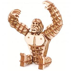Горилла 3D Пазлы Деревянные Robotime