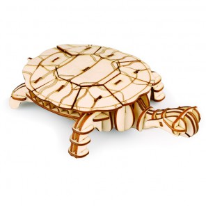 Черепаха 3D Пазлы Деревянные Robotime