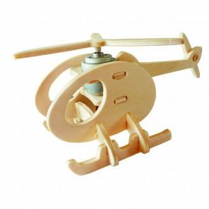 Вертолет А (на солнечной энергии) 3D Пазлы Деревянные Robotime