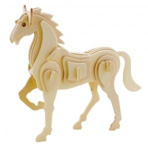 Конь 3D Пазлы Деревянные Robotime