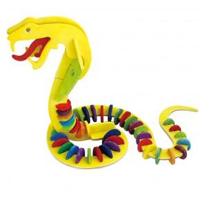 Змея 3D Пазлы Деревянные Robotime