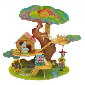 Дом на дереве 3D Пазлы Деревянные Robotime