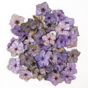 Фиалки сиреневые Цветы декоративные для скрапбукинга, кардмейкинга Knorr Prandell