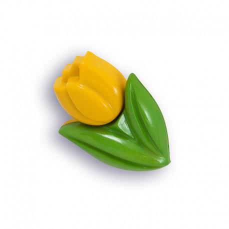 Тюльпан желтый Пуговицы декоративные