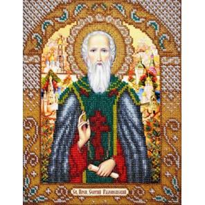 Святой Сергий Радонежский Набор для частичной вышивки бисером Паутинка