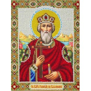 Святой Владимир Набор для частичной вышивки бисером Паутинка