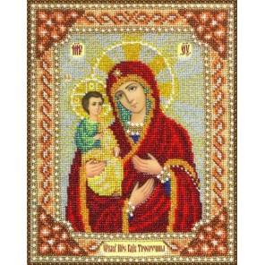Богородица Троеручница Набор для частичной вышивки бисером Паутинка