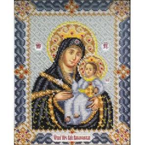 Вифлеемская Богородица Набор для частичной вышивки бисером Паутинка