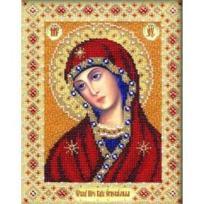 Богородица Огневидная Набор для частичной вышивки бисером Паутинка
