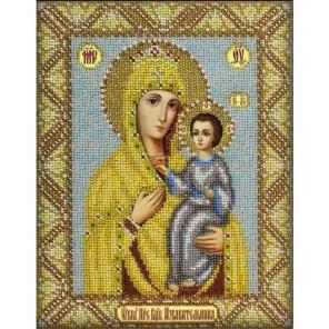 Богородица Избавительница Набор для частичной вышивки бисером Паутинка