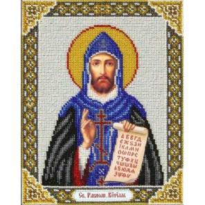Святой Кирилл Набор для частичной вышивки бисером Паутинка