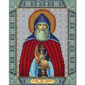 Святой Илья Муромец Набор для частичной вышивки бисером Паутинка