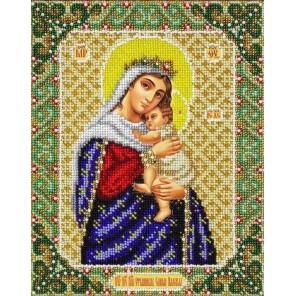 Богородица Отчаянных единая надежда Набор для частичной вышивки бисером Паутинка