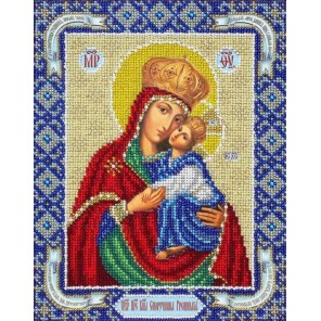 Богородица Споручница грешных Набор для частичной вышивки бисером Паутинка