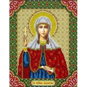 Святая Валентина Набор для частичной вышивки бисером Паутинка