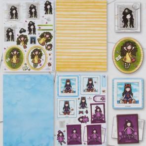 Пиратка Набор бумаги и листов с высечкой для скрапбукинга, кардмейкинга Santoro's Gorjuss
