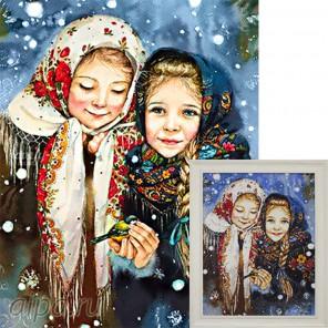 Русские красавицы Алмазная вышивка мозаика Гранни