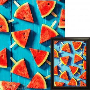 Арбузные дольки Алмазная вышивка мозаика Гранни