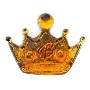 Корона желтая Декоративное пластиковое украшение Clorex