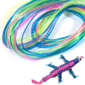 Неоновое сияние Набор трубочек для плетения