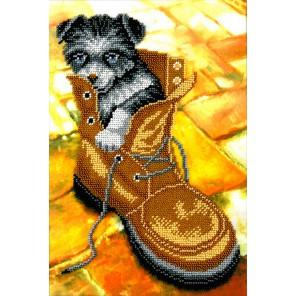Лайчонок Набор для вышивки бисером Вышиваем бисером