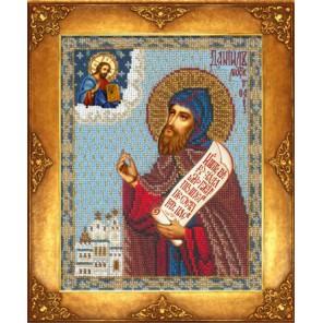 Святой Даниил Московский Набор для частичной вышивки бисером Русская искусница