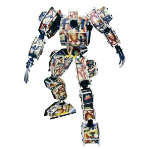 Робот Зевс 3D Пазлы Zilipoo