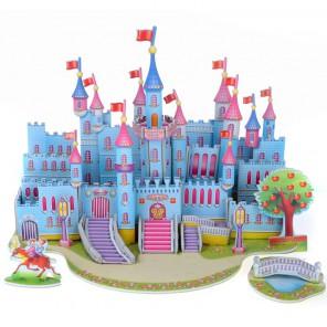Голубой замок 3D Пазлы Zilipoo