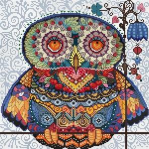 Волшебная сова Набор для вышивания Белоснежка