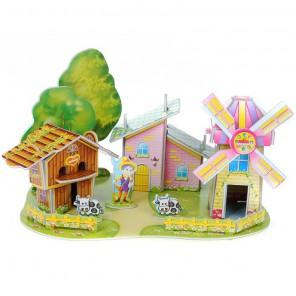 Дом мельница (мини серия) 3D Пазлы Zilipoo