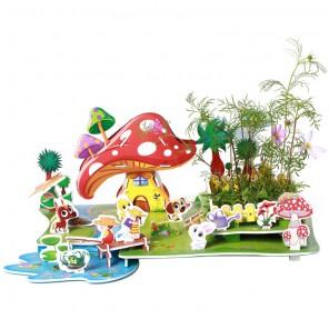 Сельский пейзаж 3D Пазлы Zilipoo