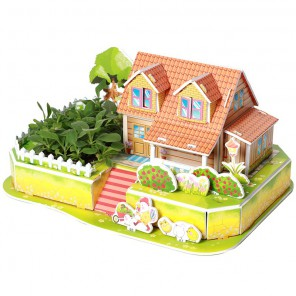 Любимый сад 3D Пазлы Zilipoo