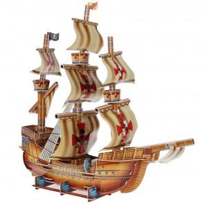 Пиратский корабль 3D Пазлы Zilipoo