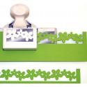 Лента Вишневые цветы Фигурный дырокол для скрапбукинга, кардмейкинга Martha Stewart Марта Стюарт