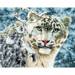 Снежный барс Алмазная мозаика вышивка Painting Diamond