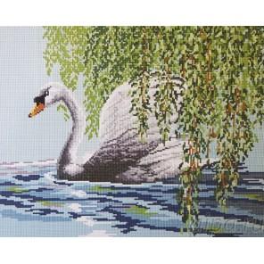 Лебедь Алмазная мозаика вышивка Painting Diamond