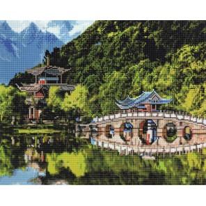 Озеро Черного дракона Алмазная мозаика вышивка Painting Diamond