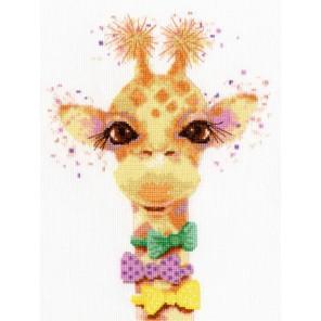 Влюбленный жираф Набор для вышивания Золотое Руно