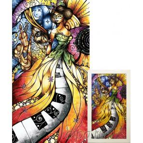 Муза абстракции Алмазная вышивка мозаика Гранни